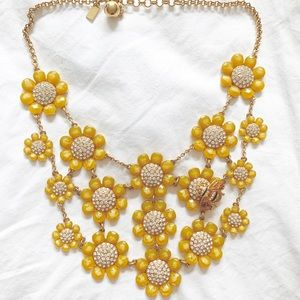 Kate Spade Bumblebee Statement Necklace
